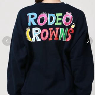 RODEO CROWNS WIDE BOWL - ロデオ RCWB RyuAmbe コラボ クルースウェット