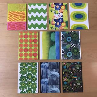 marimekko - マリメッコ  ポストカード 10枚
