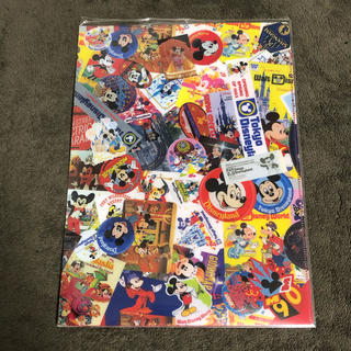 Disney - 90周年 ミッキー クリアファイル クリアホルダー