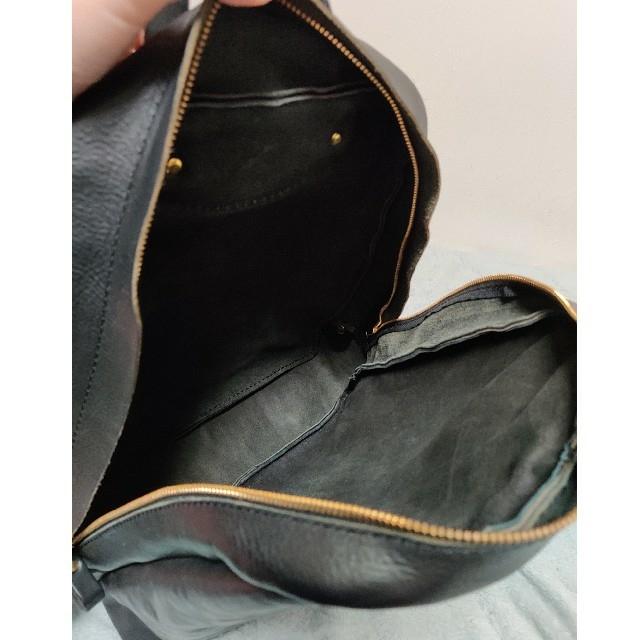 HERZ(ヘルツ)のherz organ ファスナーリュック(G-53) メンズのバッグ(バッグパック/リュック)の商品写真
