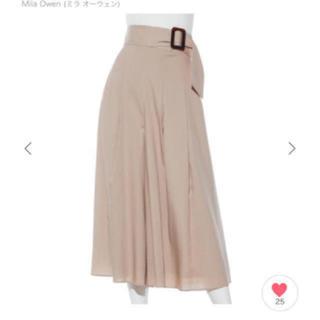 Mila Owen - ミラオーウェン  スカート見えガウチョパンツ