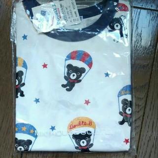 ミキハウス(mikihouse)の新品 ミキハウス ダブルB 110 Tシャツ(Tシャツ/カットソー)
