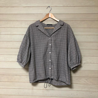 w closet - w closet ダブルクローゼット チェックシャツ