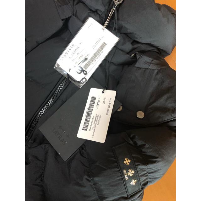 TATRAS(タトラス)のTATRAS タトラス ポリテアマ ブラック 2 レディースのジャケット/アウター(ダウンコート)の商品写真