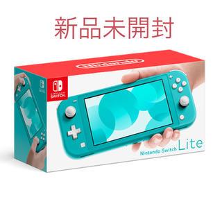 ニンテンドースイッチ(Nintendo Switch)のswitch lite ターコイズ(家庭用ゲーム機本体)