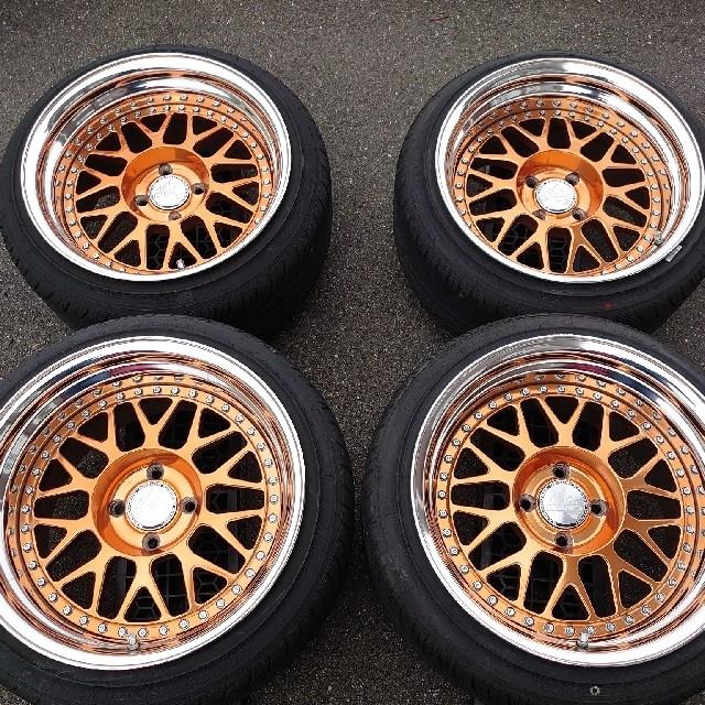 バラマンディデザイン toman  自動車/バイクの自動車(タイヤ・ホイールセット)の商品写真