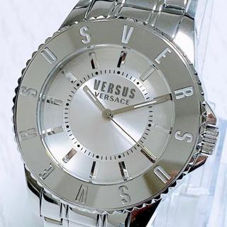 ヴェルサーチ(VERSACE)の◆世界限定品◆新品 高級VERSUS VERSACE 腕時計 シルバー(腕時計(アナログ))