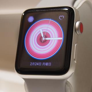 Apple Watch - Apple Watch Series 3 Cellular Alumi 42mm