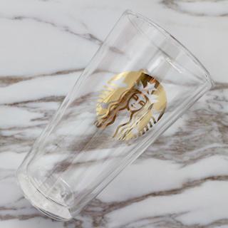 Starbucks Coffee - 【新品】海外限定 スターバックス 二層 グラスカップ 女神様 Siren