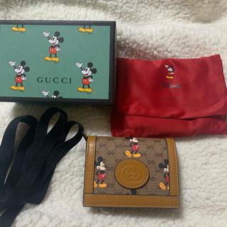 Gucci - GUCCI ミッキー 大人気 お財布