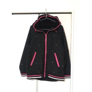 黒 マルチカラー 水玉(テーラードジャケット)