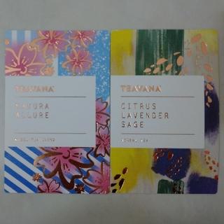 Starbucks Coffee - STARBUCKS RESERVE TEAVANA CARD(2枚)