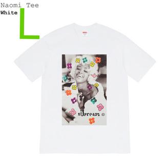 Supreme - L Supreme Naomi Tee White シュプリーム Tシャツ