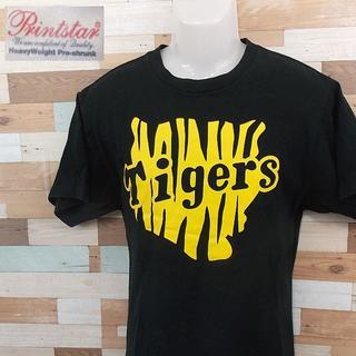 ハンシンタイガース(阪神タイガース)の【HANSHIN Tigers】 美品 阪神タイガース 応援Tシャツ サイズL(Tシャツ/カットソー(半袖/袖なし))