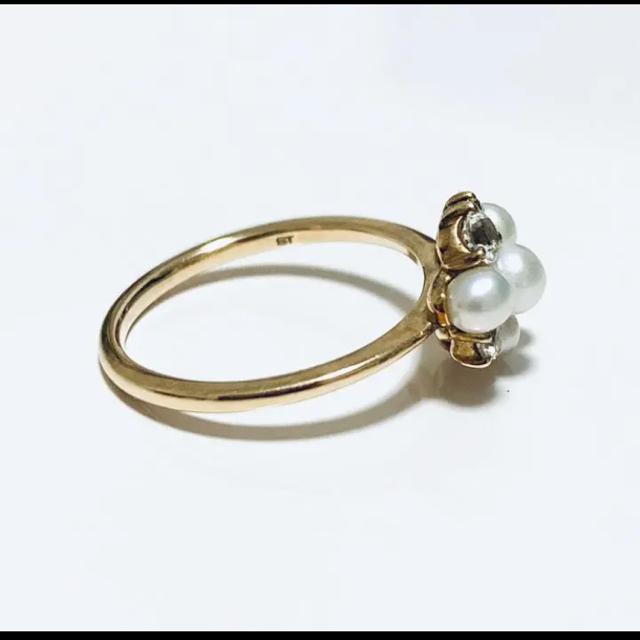 Samantha Tiara(サマンサティアラ)のサマンサティアラ 紗栄子コラボ パールリング レディースのアクセサリー(リング(指輪))の商品写真