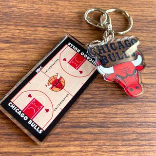 NBA  シカゴ・ブルズ ゲーム・コート キーホルダー BULLS
