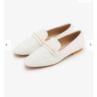 プラステ(PLST)の新品!未使用!♥️PLST♥️エコレザーソフトローファー。サイズS。(ローファー/革靴)