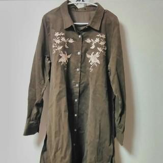 大きいサイズシャツ(シャツ/ブラウス(長袖/七分))