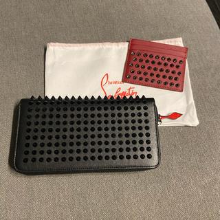 Christian Louboutin - クリスチャンルブタン 長財布 カードケース
