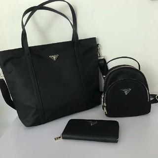 PRADA - 新品 Prada  プラダ   トートバック  リュック  財布