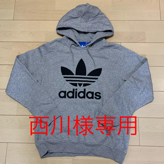 adidas - adidas  アディダス オリジナルス パーカー グレー