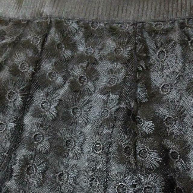 ANAYI(アナイ)の【新品】ANAYI  フラワー刺繍フレアスカート レディースのスカート(ロングスカート)の商品写真