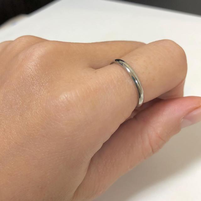 gelato pique(ジェラートピケ)のアレルギー対応!刻印無料 ステンレス製 リング 指輪 ピンキーリング レディースのアクセサリー(リング(指輪))の商品写真