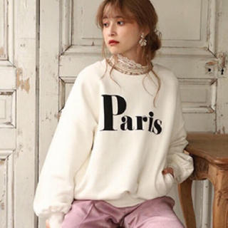 one after another NICE CLAUP - vintage Parisトレーナー❤︎