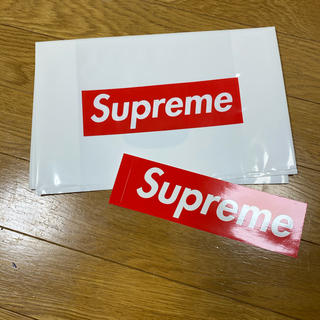 Supreme - Supreme ステッカー&ショッパーセット