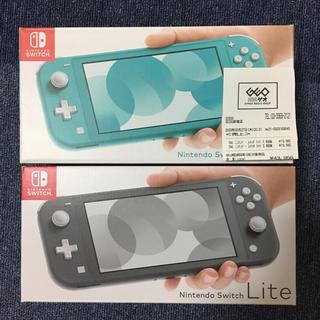 Nintendo Switch - Nintendo Switch Lite 2つセット!