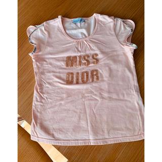 クリスチャンディオール(Christian Dior)のクリスチャンディオール スパンコール ビーズ(Tシャツ(半袖/袖なし))