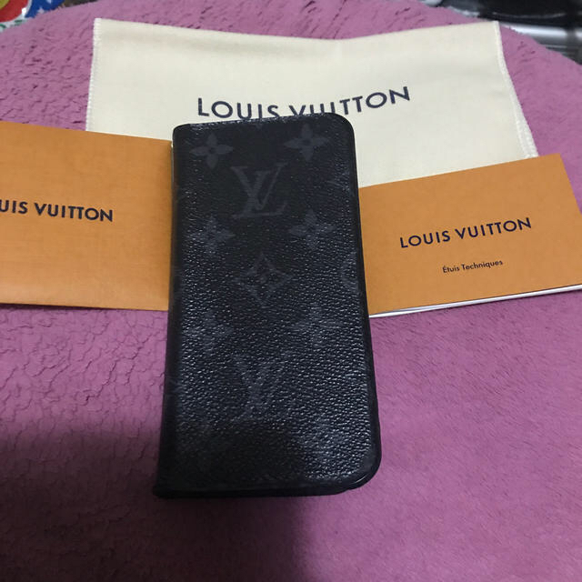 LOUIS VUITTON - 正規品ルイヴィトンiPhone Xケースの通販