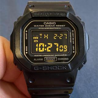 カシオ(CASIO)のG-SHOCK DW-5600P-1JF ジャンク品(腕時計(デジタル))