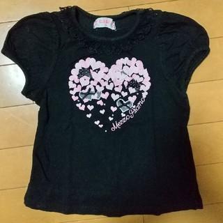 メゾピアノ(mezzo piano)の中古 半袖Tシャツ100センチ(Tシャツ/カットソー)
