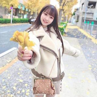 JILL by JILLSTUART - ジルバイジルスチュアート ♡ボアボマージャケット♡ 大谷映美里ちゃん着用
