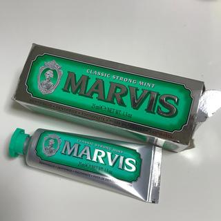 新品未使用 MARVIS25ml クラッシックストロングミント