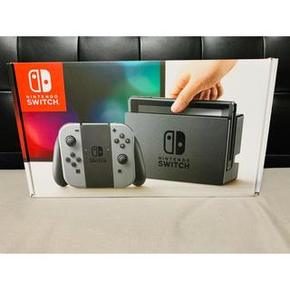 Nintendo Switch - Nintendo Switch JOY-CON グレー 本体  HAC-S-KA