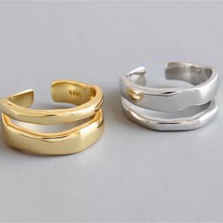 TODAYFUL - 値下げ中!二連デザインリング オープンリング シルバー完売 指輪 新品
