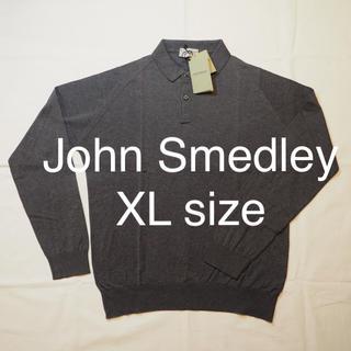 ジョンスメドレー(JOHN SMEDLEY)のJOHN SMEDLEY  長袖ポロ  【新品】(ポロシャツ)