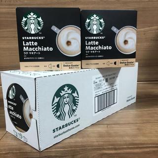 スターバックスコーヒー(Starbucks Coffee)のドルチェグスト スターバックス ラテマキアート5箱セット(その他)