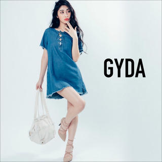 GYDA - GYDA フロント スピンドル ワンピース♡ミラーナイン ジーナシス リゼクシー