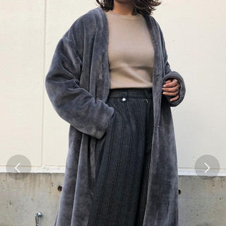 ZARA -  &g'aimeノーカラーファーコート