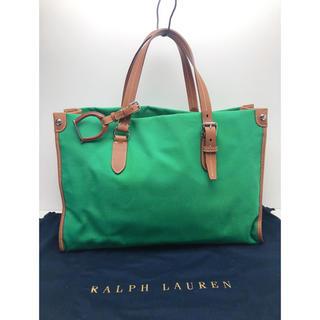 Ralph Lauren - F187 極美品★ ラルフローレン トートバッグ ビジネスバッグ 保存袋付き
