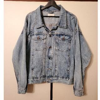 フィアオブゴッド(FEAR OF GOD)のfear of god型 denim trucker jacket (S)(Gジャン/デニムジャケット)