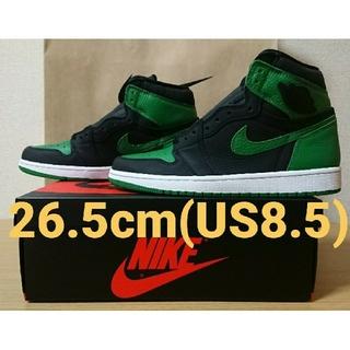 NIKE - Jordan 1 Retro High OG Pine Green Black