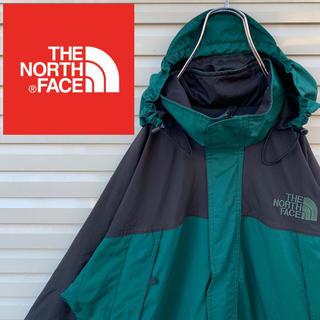 ザノースフェイス(THE NORTH FACE)のノースフェイス マウンテンジャケット 90s ラグラン ゆるダボ フード 激レア(ナイロンジャケット)