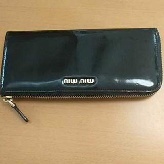 miumiu - おしゃれで可愛い miumiuの革財布