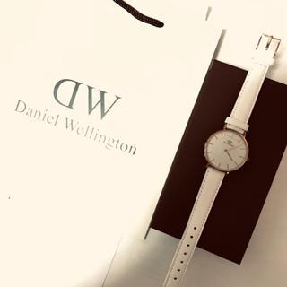 Daniel Wellington - ダニエルウェリントン 腕時計 クォーツ 白い