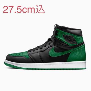 NIKE - 27.5cm air jordan 1 pine green