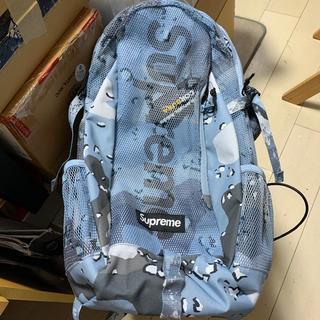 Supreme - supreme 20ss backpack ブルーカモ